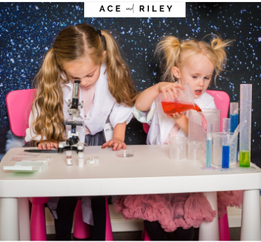 stem toys for girls ACE and RILEY