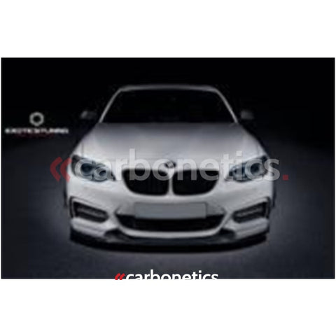 14-15 Bmw 2 Series F22 235I M-Tech Exotics Style Front Lip Accessories