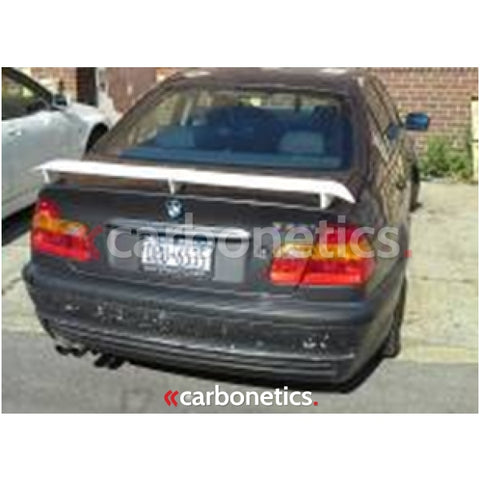 1998-2005 Bmw E46 3 Series 4D Sedan Hw Style Trunk Spoiler Accessories