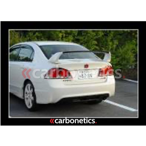 2006-2010 Honda Civic 4Dr Mugen Rr Style Rear Spoiler Accessories