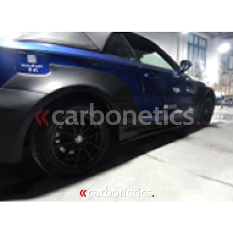 2008-2013 Bmw 1 Series E82 M1-Rzs Style Wider Rear Fender Flare Accessories