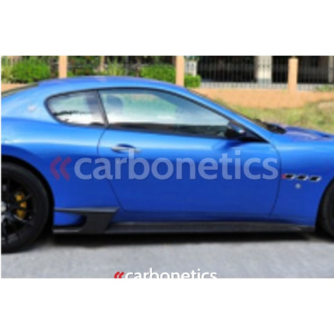 2008-2013 Maserati Gt Dmc Sovrano 2011 Style Side Skirts Accessories