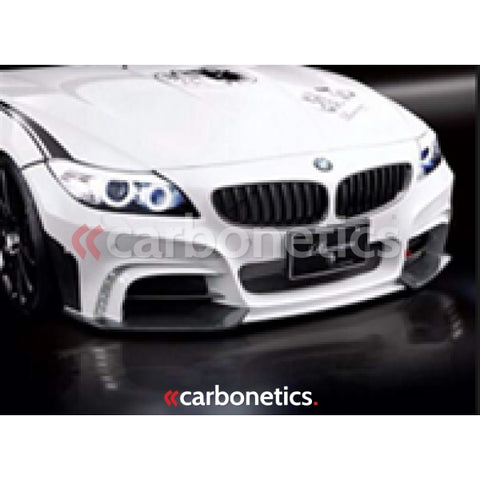 2009-2013 Bmw Z4 E89 Rowen White Wolf Edition Style Front Bumper W/ Led Accessories