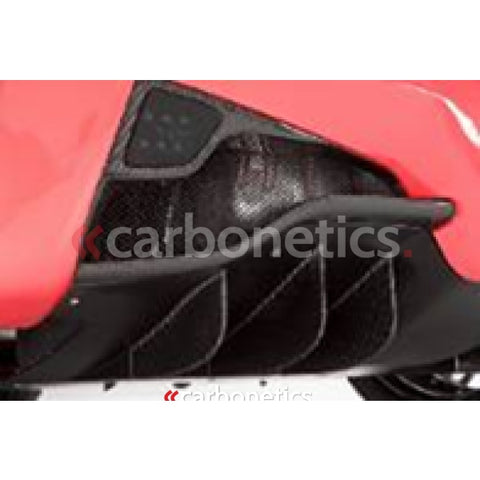 Ferrari 458 Italia Dmc Style Rear Diffuser Fin Replacement 6Pcs Accessories