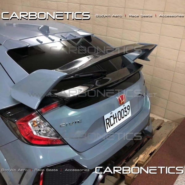 Honda Civic Type-R Fk8 Rear Spoiler Wing Flap