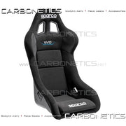 Sparco Evo Qrt Ultralight Fiberglass Seat Accessories