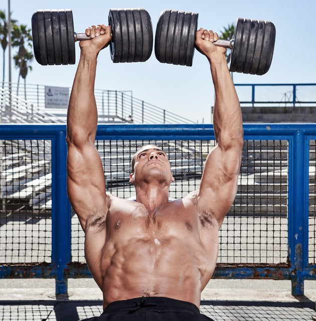 Ike Catcher's Chest-and-Shoulder Workout