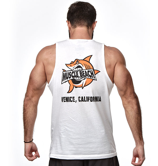 SHARK CRUNCH TANK TOP - Muscle Beach