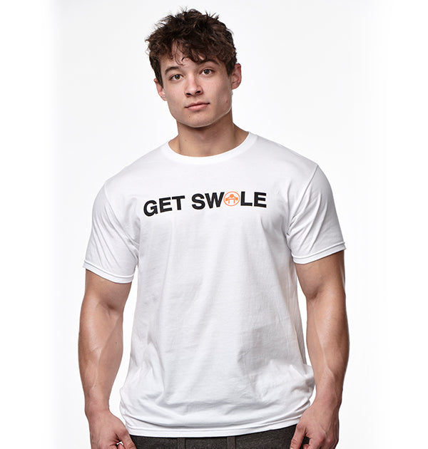 GET SWOLE T-SHIRT - Muscle Beach