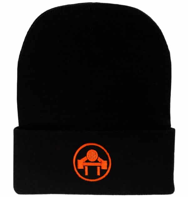 EMBROIDERED FLEX-FIT BEANIE - Muscle Beach