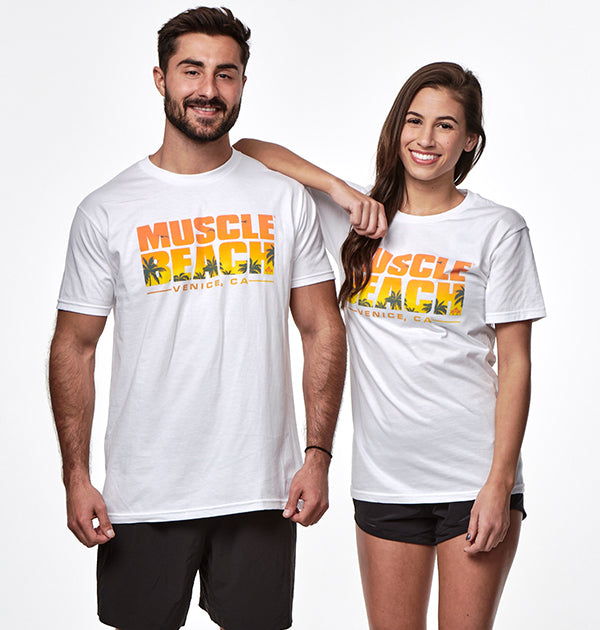 SUNSET T-SHIRT - Muscle Beach