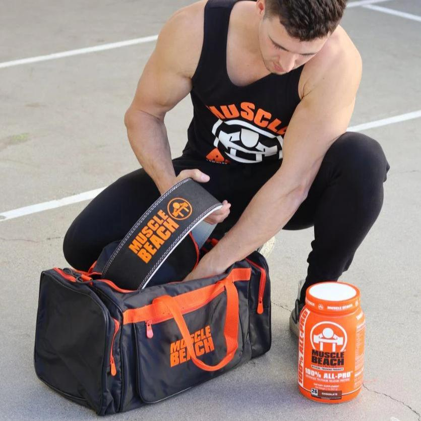 Muscle Beach Duffel Bag - Muscle Beach