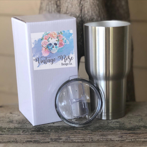 Be Kind Have Courage and Always Believe in a Little Magic Cinderella Tumbler