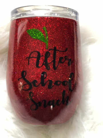 After School Snack Wine Tumbler