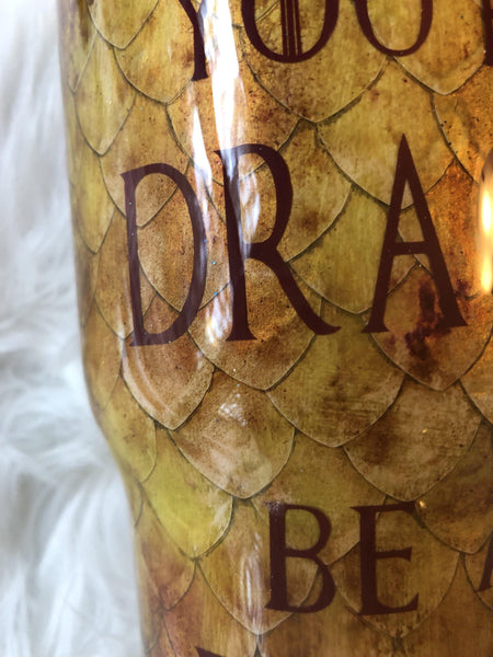Game of Thrones Dragon Scale Tumbler