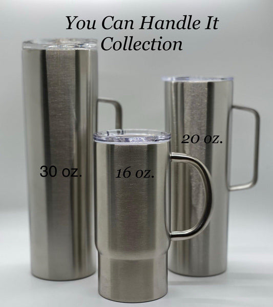 Sorry For What I Said Before Coffee Tumbler