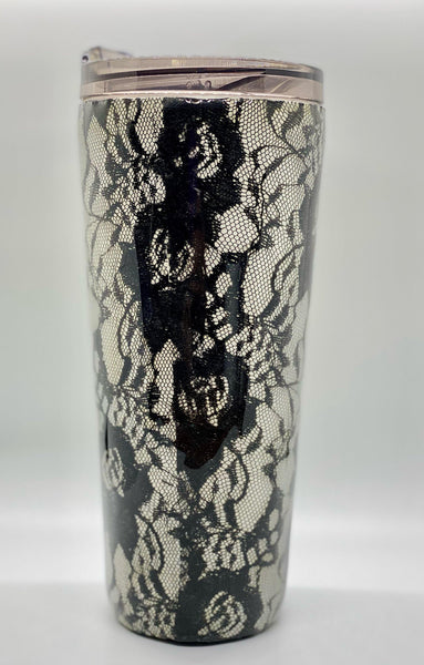 Classy But I Cuss a Little Lace Tumbler