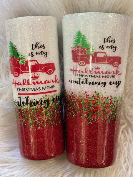 Hallmark Christmas Movie Tumbler