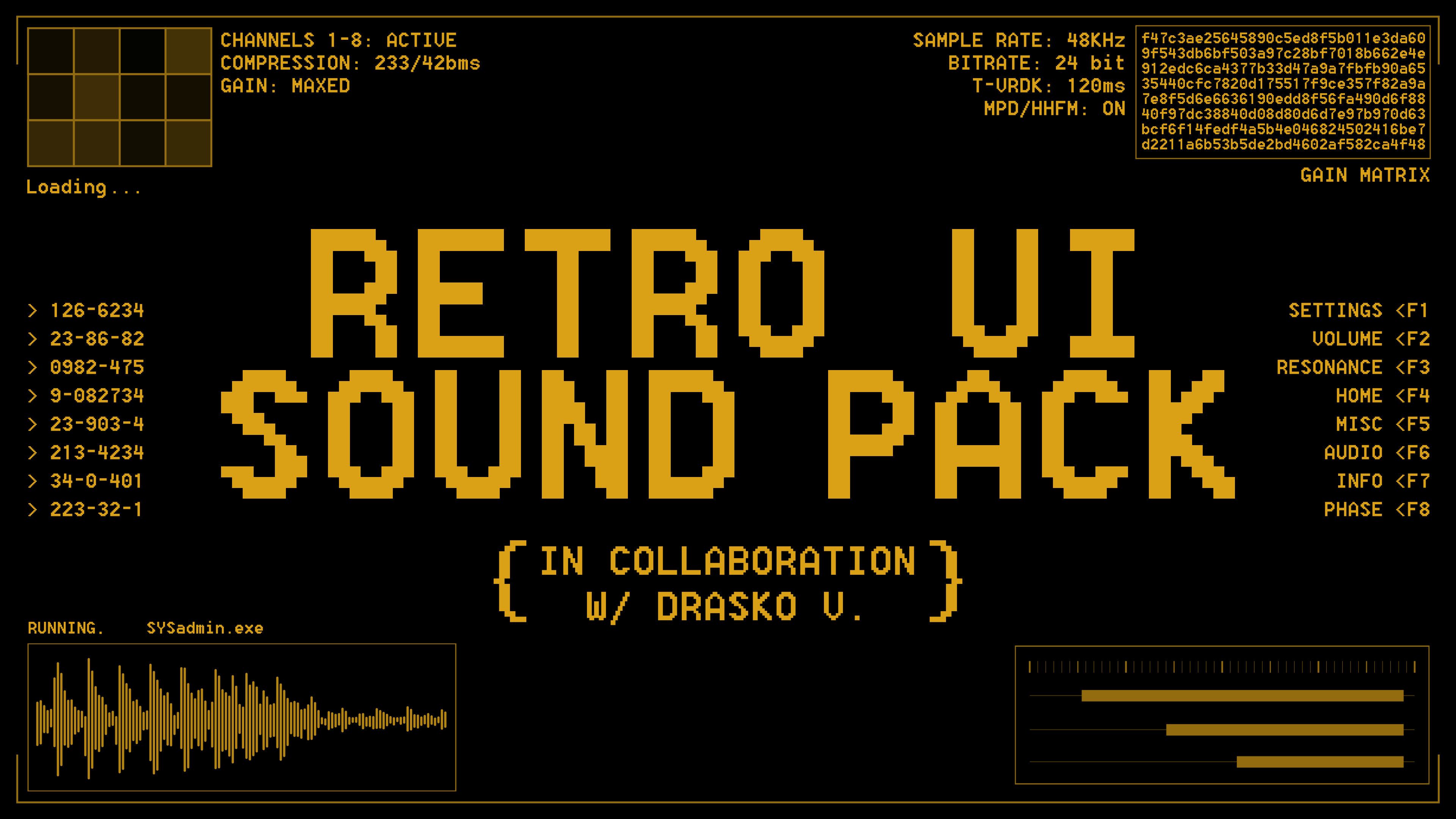Retro UI Sound Pack