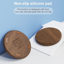 Load image into Gallery viewer, Wooden Wireless Charging Pad