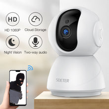 Load image into Gallery viewer, WiFi Security Camera - Baby/Pet Monitor