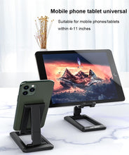Load image into Gallery viewer, Mobile Phone & Tablet Holder Adjustable Stand