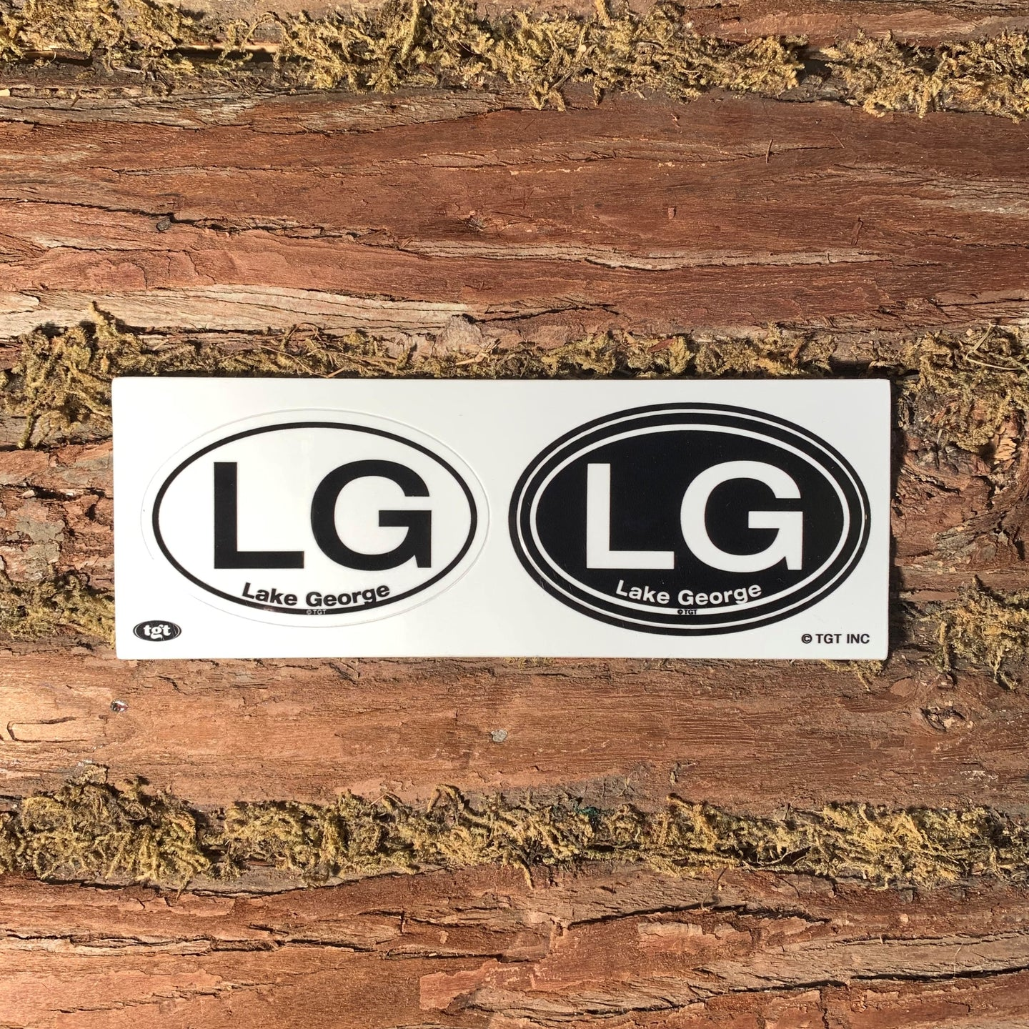 Lake George Stickers