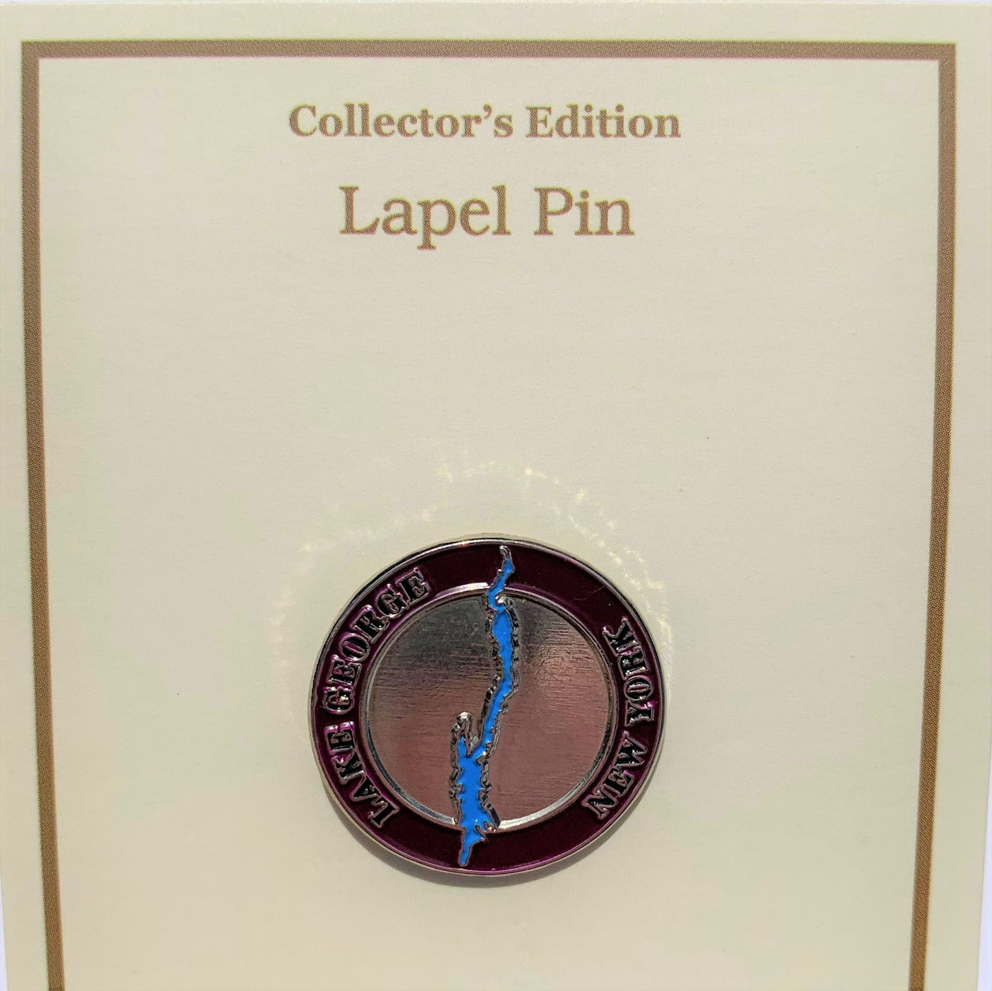 Lake George Map Pin