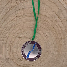 Load image into Gallery viewer, Lake George Map with Thomas Jefferson Quote two sided Ornament