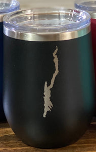 Lake George Map Insulated Tumbler