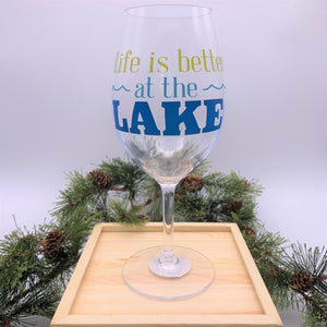 Life is Better at the Lake Acrylic Glass