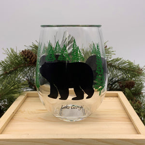 Bear Acrylic Glass