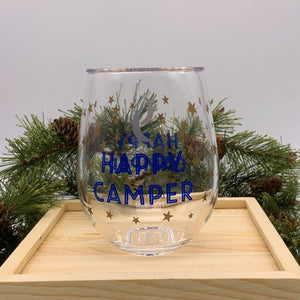 Happy Camper Acrylic Glass