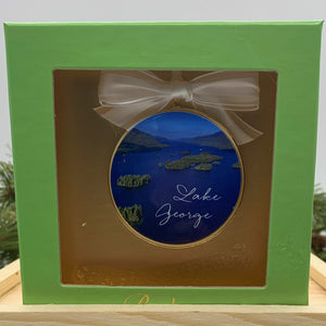 Lake George Islands Ceramic Ornament