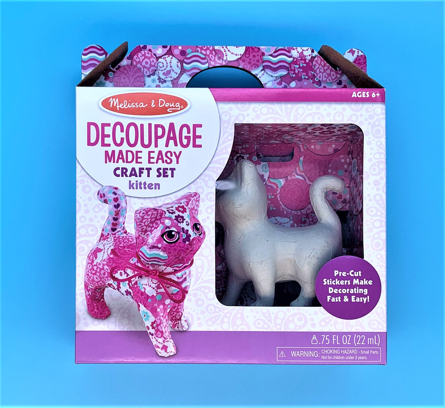 Decoupage Craft Kitten