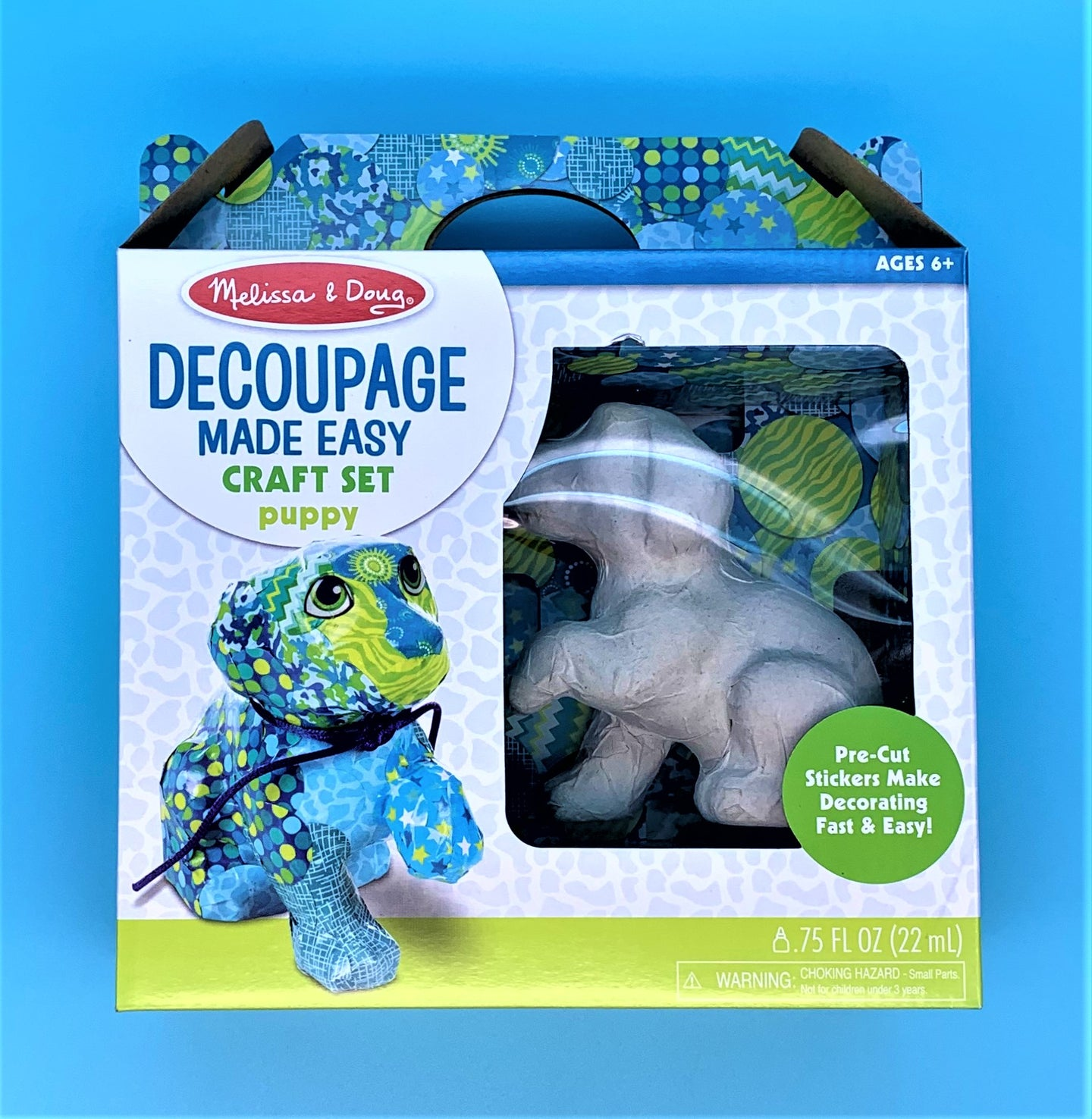 Decoupage Craft Puppy