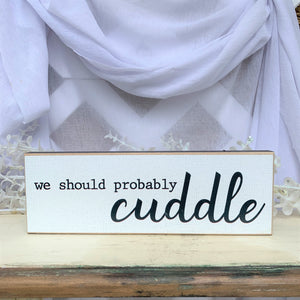 We should probably Cuddle Sign