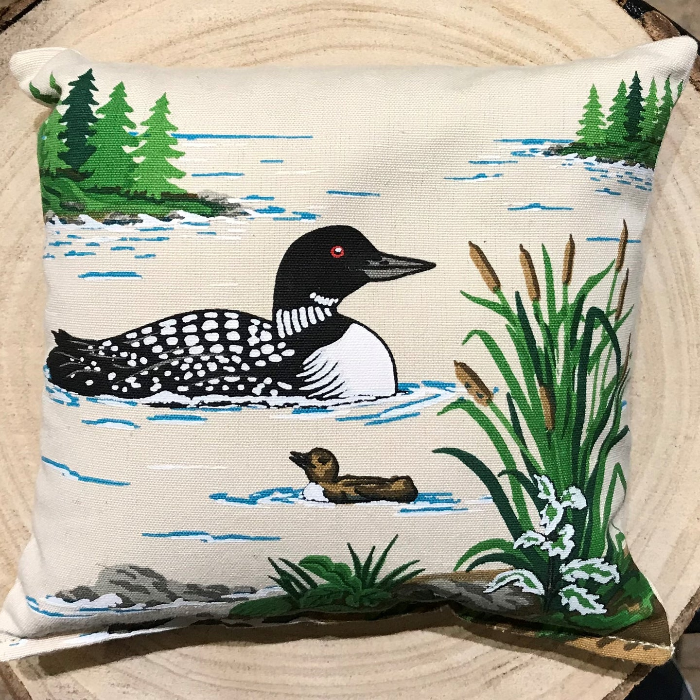 Loon Balsam Pillow