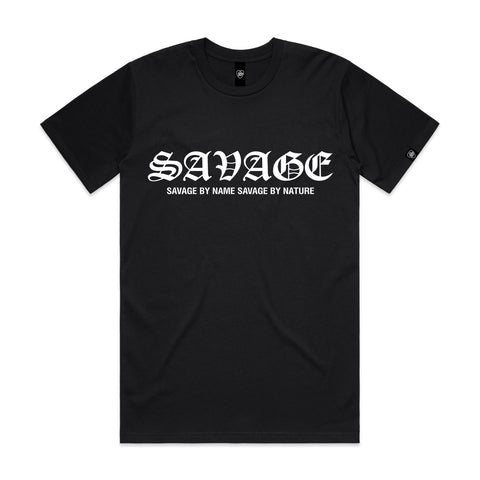 SAVAGE BY NAME SAVAGE BY NATURE Women's T-Shirt