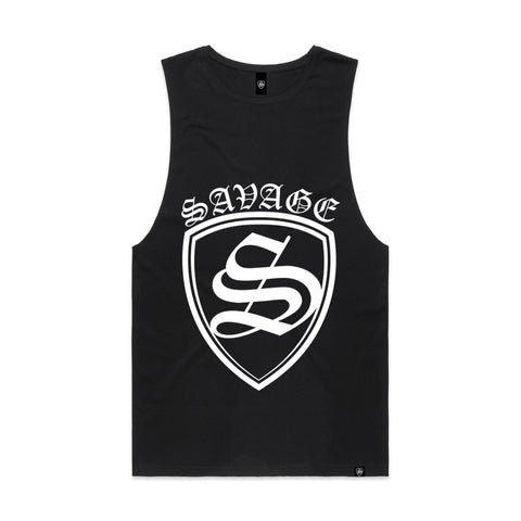 SAVAGE SHIELD Men's Organic Singlet