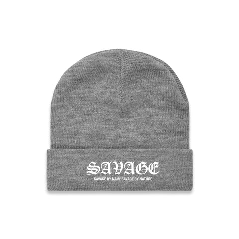 SAVAGE BY NAME SAVAGE BY NATURE Beanie