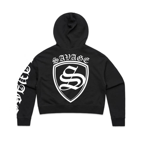 SAVAGE SHIELD Women's Crop Hood