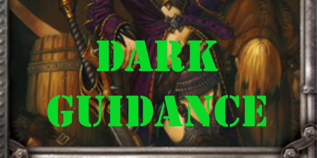 Dark Guidance 68