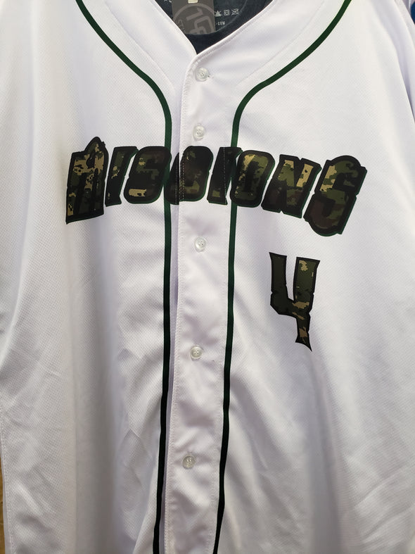 San Antonio Missions Game Worn Military Appreciation Jersey