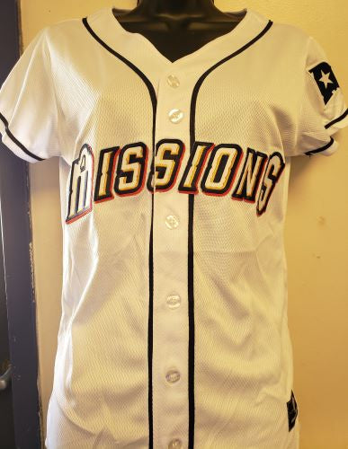 San Antonio Missions Home Ladies Replica Jersey