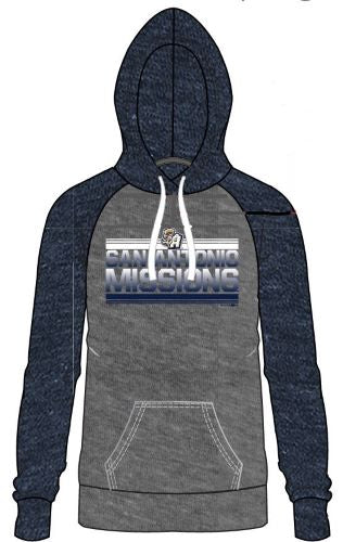 San Antonio Missions Ladies Lightweight Tri-Blend Hoody