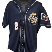 San Antonio Missions Game Worn Alternate Jersey