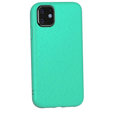 iPhone 12 Mini Case - Grippy & Biodegradable by Case Hands™ iPhone Cases Case Hands iPhone 12 Mini aquamarine