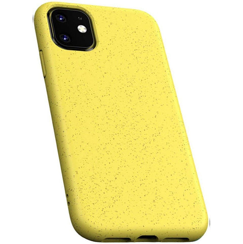 iPhone 12 Mini Case - Grippy & Biodegradable by Case Hands™ iPhone Cases Case Hands iPhone 12 Mini Yellow