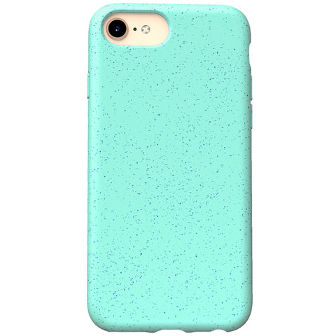 iPhone 7 Case - Grippy & Biodegradable by Case Hands™ iPhone Cases Case Hands iPhone 7 aquamarine